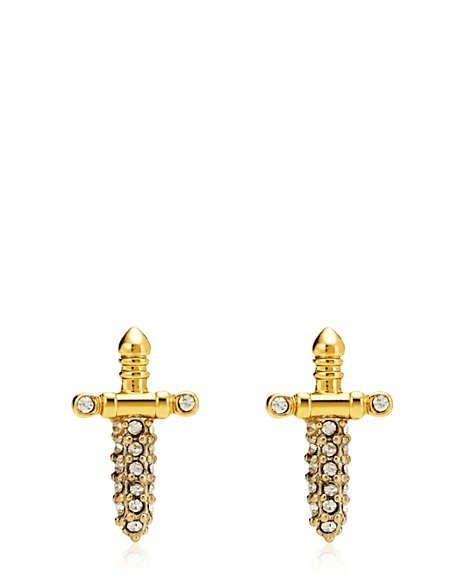 JUICY COUTURE EARRING DAGGER STUD Gold