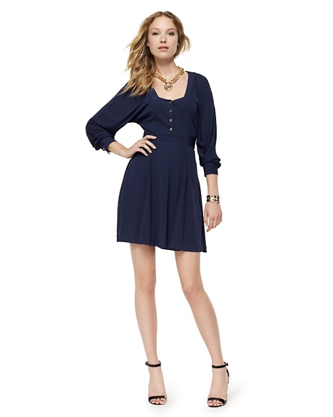 JUICY COUTURE DRESS MATTE JERSEY BOHO Regal