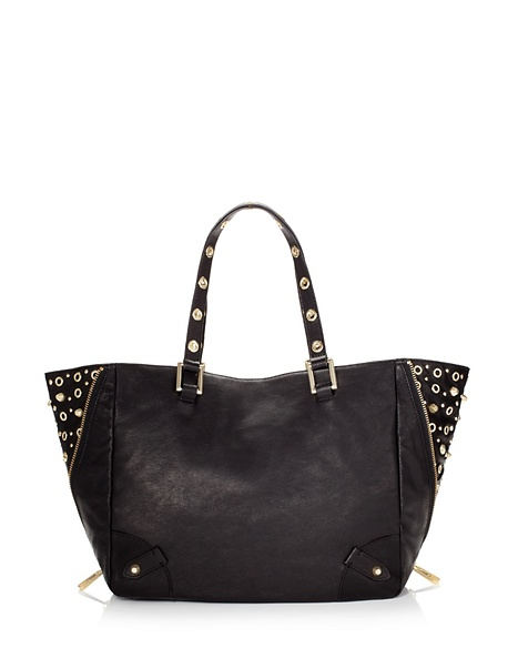 JUICY COUTURE TOTE BEDFORD LEATHER Black