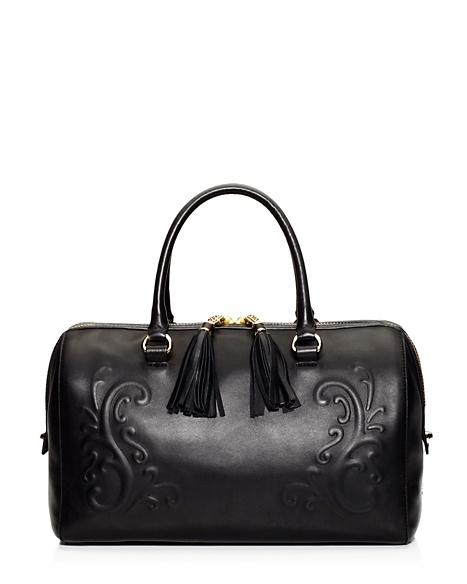 JUICY COUTURE OLVERA LEATHER STEFFY Black