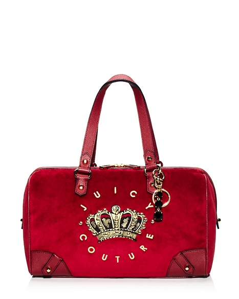 JUICY COUTURE HANGING STONE VELOUR STEFFY Well Coiffed
