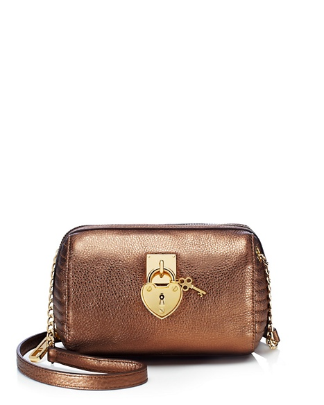 JUICY COUTURE ROBERTSON LEATHER MINI STEFFY Soft Gold