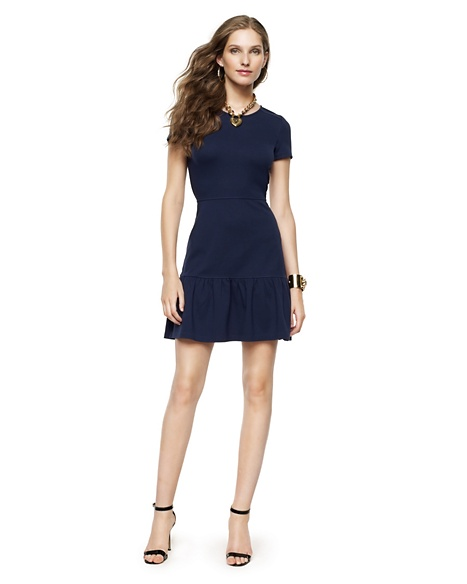 JUICY COUTURE DRESS SOLID PONTE FLIRTY Regal