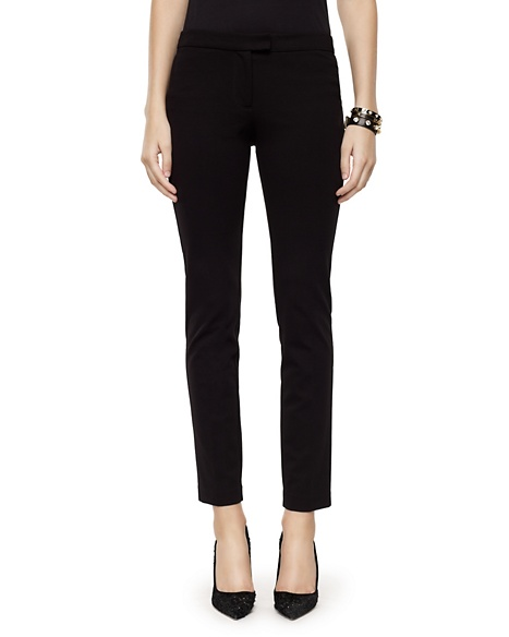 JUICY COUTURE PANT PONTE SKINNY Pitch Black