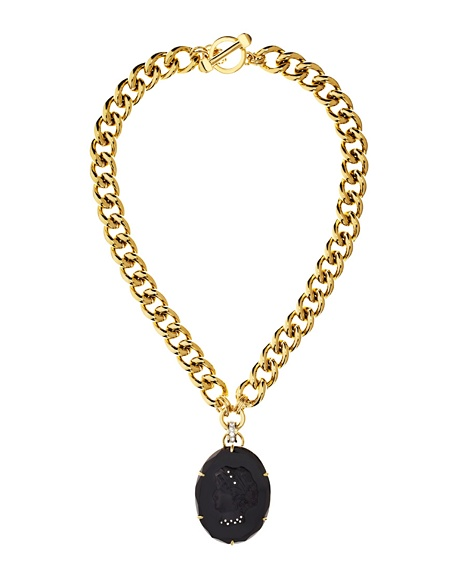 JUICY COUTURE PENDANT CAMEO Gold