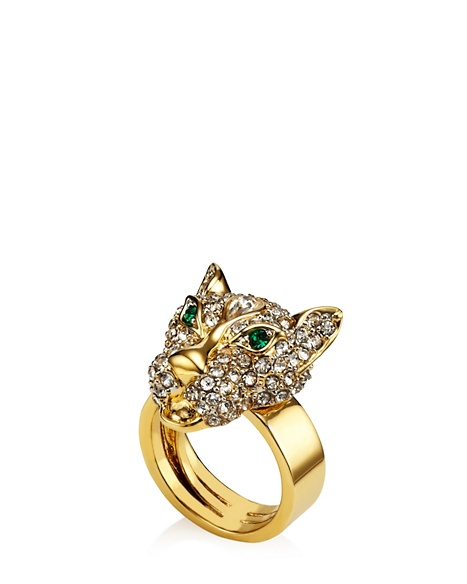 JUICY COUTURE RING LEOPARD Gold
