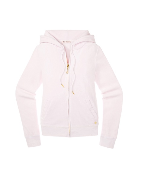 JUICY COUTURE JACKET ORIGINAL IN BRIDAL J BLING VELOUR