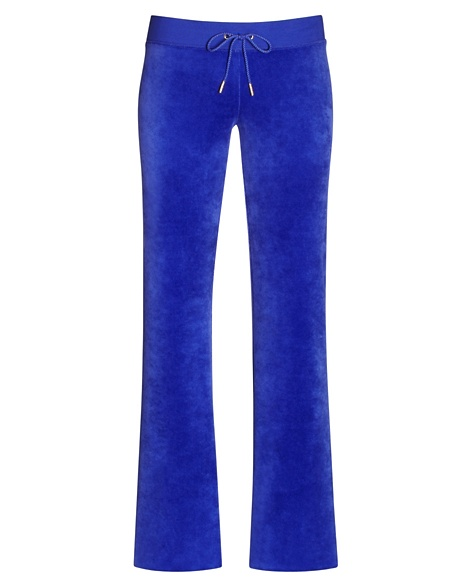 JUICY COUTURE PANT VELOUR BLING ORIGINAL LEG Avery