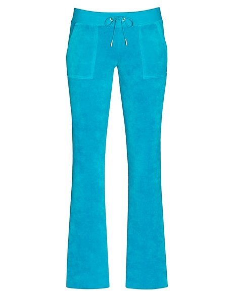 JUICY COUTURE PANT BOOTCUT IN JBLING VELOUR Nordic