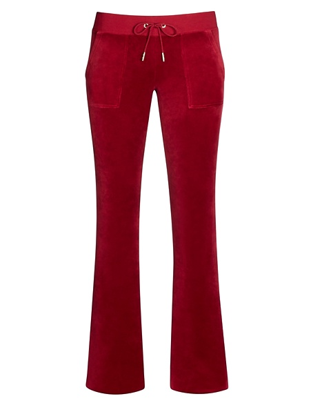 JUICY COUTURE PANT BOOTCUT IN JBLING VELOUR Well Coiffed