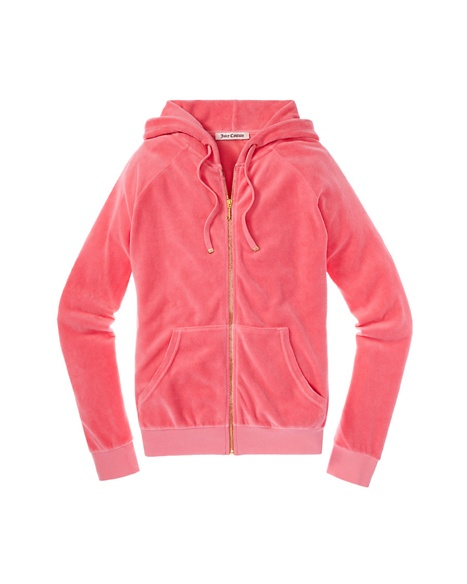 JUICY COUTURE J BLING HOODIE Ultra Bombshell