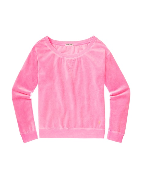 JUICY COUTURE RELAXED IN VELOUR Synthetic Pink