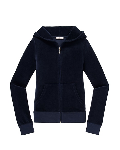 JUICY COUTURE JACKET ORIGINAL IN JUICY CREST VELOUR Regal