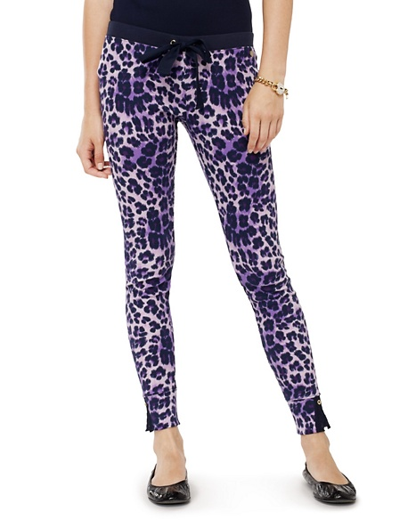 JUICY COUTURE PANT WOMEN THERMAL Dalia Leopard