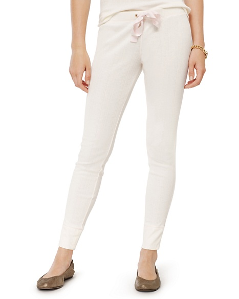 JUICY COUTURE PANT WOMEN VARIEGATED RIB Angel