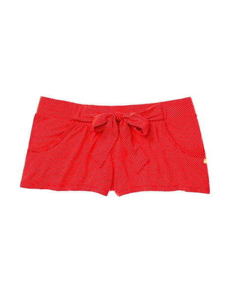 JUICY COUTURE SHORT WOMEN LOUNGE ESSENTIAL Persimmon