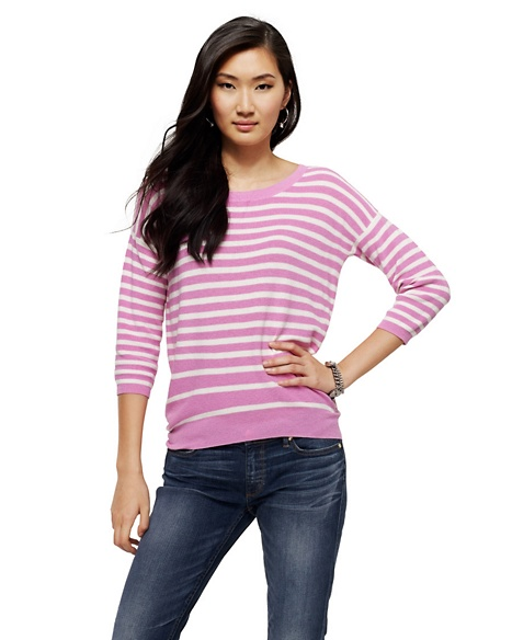 JUICY COUTURE SWEATER WOMEN NAUTICAL STRIPE Hint Of Sugar