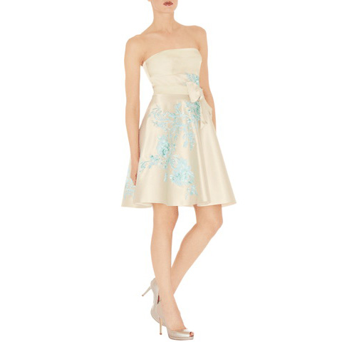 KAREN MILLEN ORIENTAL EMBROIDERED DRESS