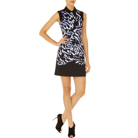 KAREN MILLEN FEATHER PRINT ON COTTON
