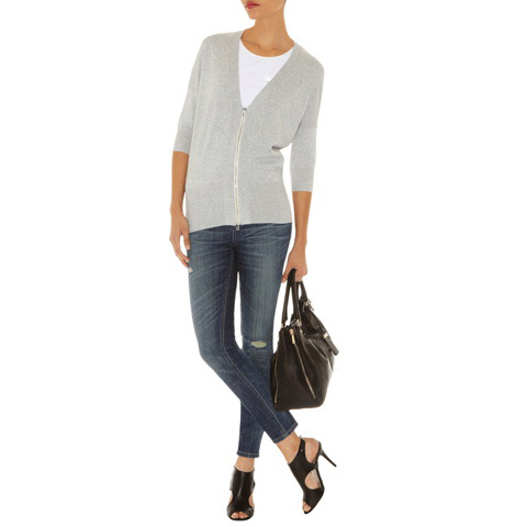 KAREN MILLEN KNITS WITH GEORGETTE CARD