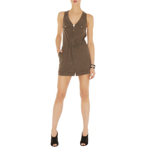 KAREN MILLEN SOFT SAFARI PLAYSUIT