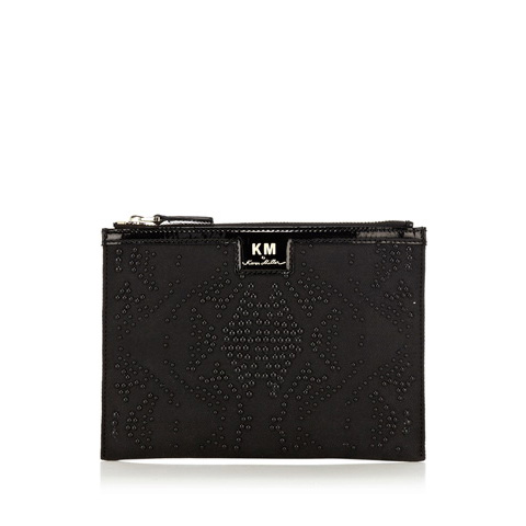 KM BY KAREN MILLEN STUDDED PURSE