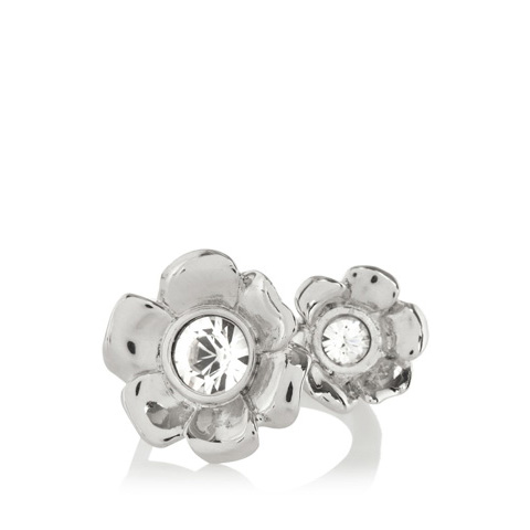 KAREN MILLEN FLOWER RING