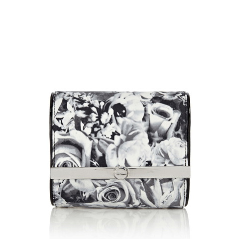 KAREN MILLEN DOT FLORAL PRINT MINI BAG