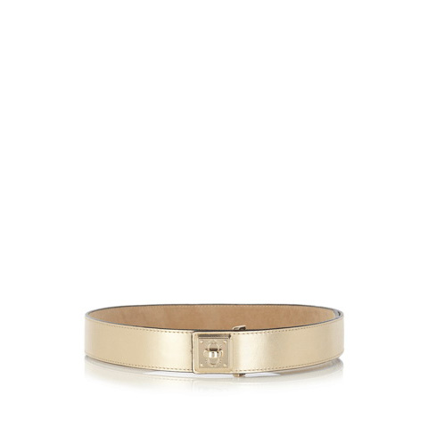 KAREN MILLEN LEATHER WAIST BELT