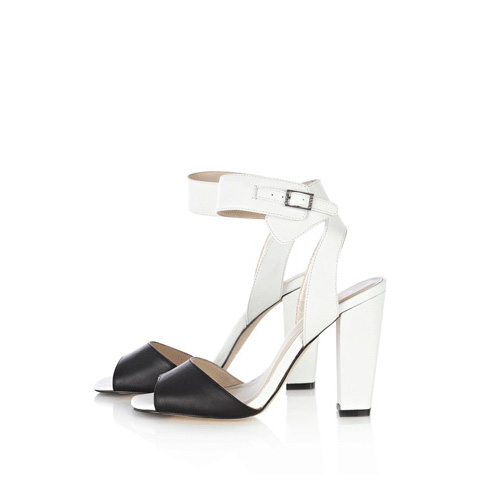 KAREN MILLEN BLACK & WHITE COLOURBLOCK