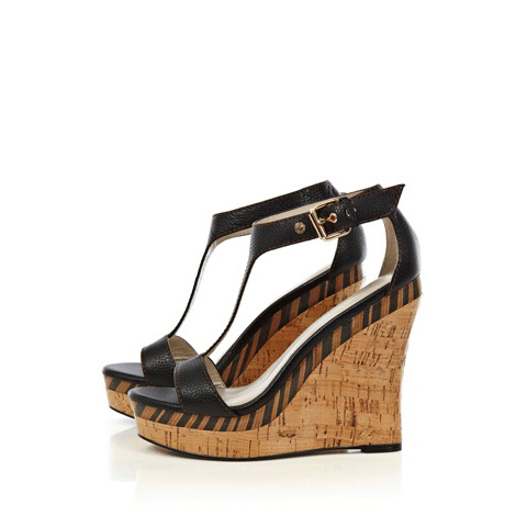 KAREN MILLEN WILD TRIBAL WEDGE SANDAL