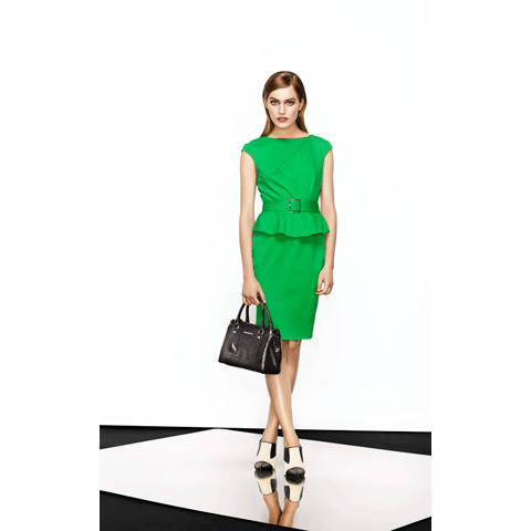 KAREN MILLEN COLOURFUL SHIFT DRESS
