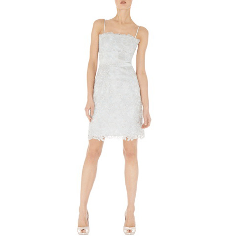 KAREN MILLEN ORGANZA CUTWORK DRESS