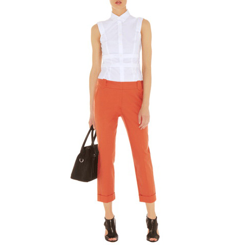 KAREN MILLEN COLOURFUL TAILORED TROUSER