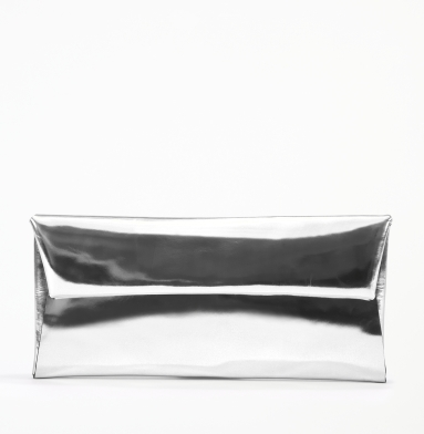 Kenneth Cole New York Spec-Tac-Ular Clutch SILVER