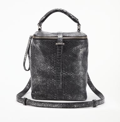 Kenneth Cole New York Strapsody Cross-Body Bag PEWTER
