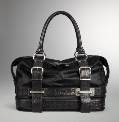 Kenneth Cole Collection Unfolded Satchel BLACK
