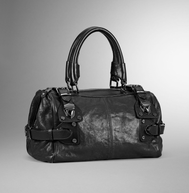 Kenneth Cole New York Hold Tight Satchel BLACK