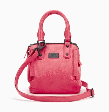 Kenneth Cole Reaction Lincoln Road Small Satchel CORAL