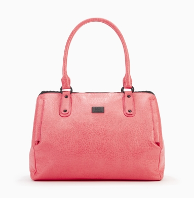 Kenneth Cole Reaction Lincoln Road Satchel CORAL