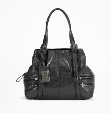 Kenneth Cole Reaction Mercer Street Satchel BLACK