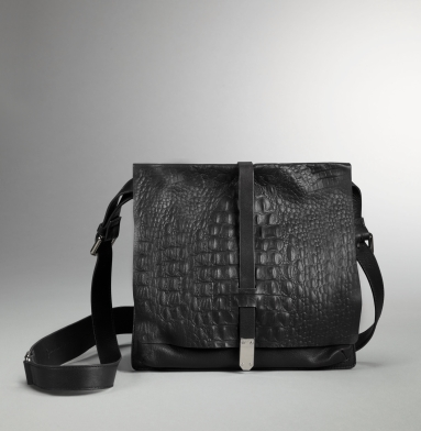 Kenneth Cole New York Hard Knocks Cross-Body Bag BLACK
