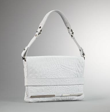 Kenneth Cole New York Handle It Over Mini Bag WHITE