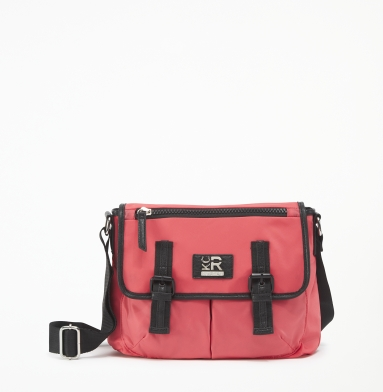Kenneth Cole Reaction Cornelia Street Messenger Bag CORAL