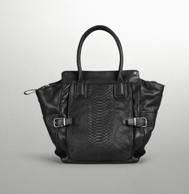 Kenneth Cole New York Stitch With Me Tote BLACK