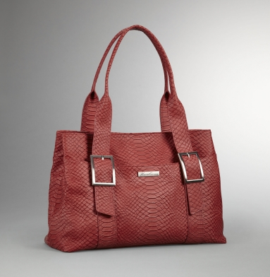 Kenneth Cole New York Fold Play Tote CORAL