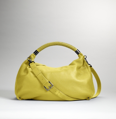 Kenneth Cole New York No Slouch Hobo CITRON