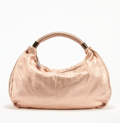 Kenneth Cole New York No Slouch Hobo ROSE GOLD