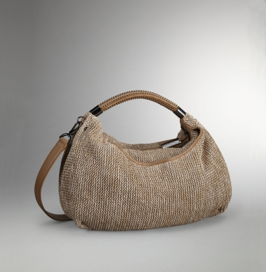 Kenneth Cole New York No Slouch Hobo NATURAL