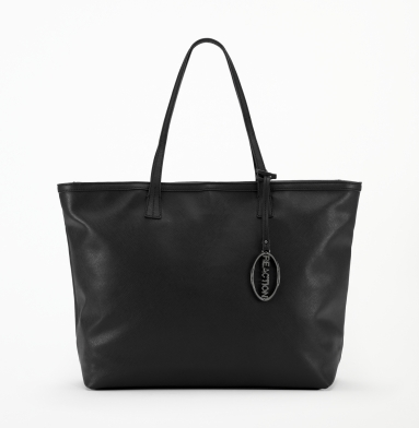 Kenneth Cole Reaction Twice The Beauty Tote BLACK